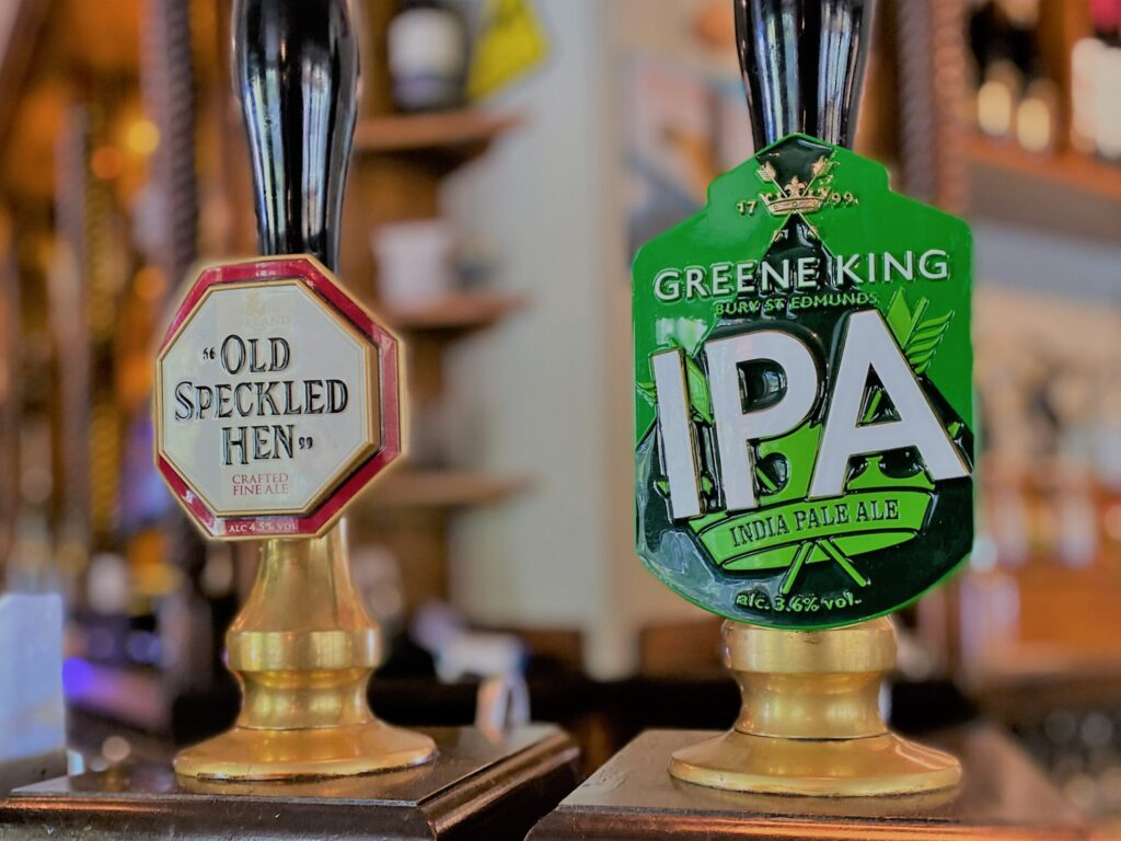 real ale taps old speckled hen greene king ipa Anchor Pub Tilsworth